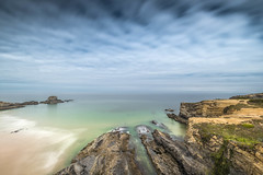 Secret bay (Sizun Eye) Tags: alentejo portgal coast coastline seashore cliffs rocks bay le longexposure poselongue landscape ocean atlantic beach sizuneye nature marvel beauty nikond750 nikon nikon1424mmf28 1424mm nikkor 2018 june nisifilters