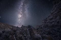 From another planet // Desde otro planeta (Antonio F. Alvarez) Tags: night stars noche estrellas via lactea milky way landscape rocks paisaje rocas almería desierto tabernas desert españa spain nikond750 tamron 1530mm 15mm nightscape