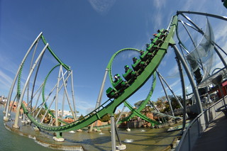 Incredible Hulk Coaster, Islands of Adventure