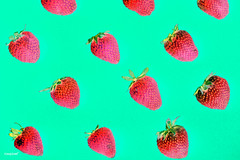 Macro of yummy strawberries on green background (rawpixel.com) Tags: background berry closeup color colorful delicious dessert detox diet energy food fresh freshness fruit healthy ingredient juicy macro name natural nutrition nutritious organic pattern raw red refreshment ripe season seasonal seed strawberry sweet taste tasty texture textured tropical vitamin wallpaper yummy