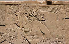 IMG_1793 (jaglazier) Tags: 2018 32518 736ad archaeologicalmuseum architecturalelements artmuseums chiapas crafts glyphs goldenkingdomsluxuryandlegacyintheancientamericas headdresses hieroglyphics kinichahkalmonaabiii kinichjanaabpakali kinichjanaabpakalii kings limestone march maya mayan mesoamerican metropolitanmuseum mexican mexico museodesitiodepalanque museums newyork palenque panels precolumbian religion rituals sacrifices specialexhibits stoneworking templexxi usa archaeology architecture art basrelief bloodletting buildings copyright2018jamesaglazier inscriptions lowrelief reliefs sculpture temples writing unitedstates
