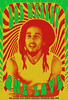 Poster Bob Marley Psychadelic 01 (codyjacobson@zenmountainmedia.com) Tags: bob marley vintage psychedelic rock poster graphic design concert text fonts colorful green yellow red rastafarian one love composite art