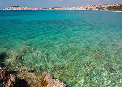 IMG_3671-1 (Andre56154) Tags: kraotien croatia hrvatska meer ozean ocean küste coast wasser water landscape sky stadt town primosten