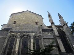 East end, Basilique Saint-Seurin, Bordeaux, France (Paul McClure DC) Tags: bordeaux france gironde july2017 nouvelleaquitaine historic architecture church