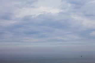 Noordzee met Bootje