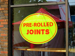 Pre Rolled Joints (knightbefore_99) Tags: vancouver cool art best awesome bc great street pre rolled joints dispensary weed legal pain medical marijuana commercialdrive eastvan funny lazy