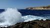 sea surf (=RetroTwin=) Tags: coast küste azur window ruin surf retrotwin travel reise malta mittelmeer ocean meer waves wellen brandung natur lostillusion75 gozo 2018   dwejra bay dwejrabay blue sea