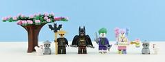 Dc minifigs #9 : Batman Samurai️ (Alex THELEGOFAN) Tags: lego legography minifigure minifigures minifig minifigurine minifigs minifigurines japan super heroes dc comics ninja samurai joker thejoker harley quinn sensei tree cherry blossom tan blue villain