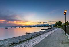 Lago di Garda - Bardolino (with making of) (Duke.Box) Tags: gardasee lagodigarda italien italy nikon d810 nikond810 holiday himmel meer landschaft bucht wasser felsen haida pro ndfilter