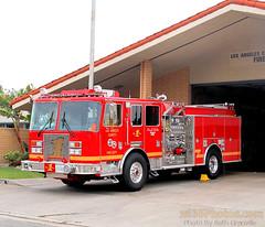 lafdeng1 (Seth Granville) Tags: los angeles county fire department engine 1 2016 kme severe service predator 1500 500 250gpm