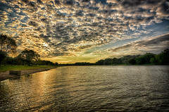 Morning Clouds Over the Illinois (kendoman26) Tags: happyslidersunday hss hdr nikhdrefexpro2 niksoftware nikon nikond7100 tokinaatx1228prodx tokina tokina1228 travelillinois enjoyillinois clouds