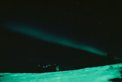 Aurora Borealis (tosiek1) Tags: aurora borealis northern lights winter north cape norway bugoynes kodak ektar 100 iso