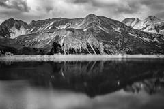 Am Lünersee (Robert Fritz) Tags: alpen berge orte papa schesapalana vorarlberg wandern lünersee alps österreich blackandwhite bw