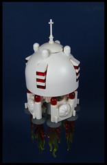 'Blakk Beauty' (Karf Oohlu) Tags: lego moc microscale microspacetopia scifi spaceship granary white