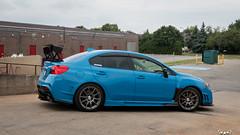 IMG_2330 (PedoJim) Tags: subaru wrx sti varis blue ivy nextmod turbo ej25 wing racecar lachute quebec montreal brembro bakemono track car