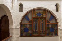 Guest Room Window (jarhtmd) Tags: africa morocco chefchaouen canon eos70d color colorful repetition abstract pattern arch circle