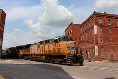 UP 5606 (steamfan1211) Tags: unionpacific up trains kansascity railroad train