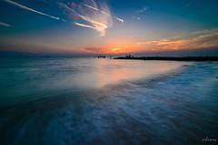 @ Pantai Puteri, Melaka (abiommacro2) Tags: pantaiputeri melaka malaysia landscape seascpae sunset slowshutter filter d7000 abiom nikon tokina blue sky cloud wave