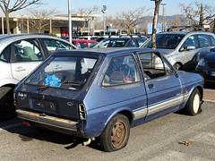 Ford Fiesta 1.1 Friend (Alessio3373) Tags: abandoned abandonment abandonedcars autoabbandonate unused unloved neglected forgotten forgottencars scrap scrapped scrappedcars rusty rust rusted rustycars ford fordfiesta fordfiestafriend