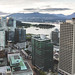View to Stanley Park and North Vancouver - Aussicht auf den Stanley Park und North Vancouver