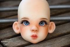 Faceup for JanaK - Kaye Wiggs Mini Layla (Cherryn&Dolls) Tags: kaye wiggs layla mini bjd faceup doll