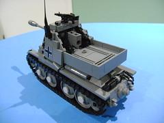 DSC00610 (TekBrick) Tags: custom german marder 3 anti tank 38t panzer lego moc ww2 war ausf h destroyer
