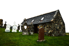 hebrides 078 (onesecbeforethedub) Tags: vilem flusser technical images onesecbeforetheend onesecbeforethedub hebrides travel travelling traveling abandoned abandon empty spooky haunted scary isle barra graveyard cemetery cemeteries graves grave tomb graveyards church chapel mystery