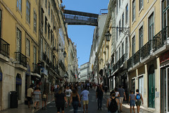 Rua do Carmo (hans pohl) Tags: portugal lisbonne villes cities architecture rues streets personnes people