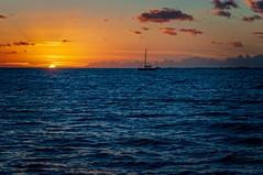 Classic Sunset (backbeatb00gie) Tags: 2018 55goldcoastcatamaran captandys classicnapalisunsetdinnersail hawaii july kauai kauaiboattours napalicoast pacificocean sunset d5000 mothernature nikon sailboat vacation