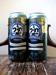 New World Belgian Witbier (knightbefore_99) Tags: beer cerveza pivo can duo pair malt hops tasty local craft bc witbier belgian new world 20th anniversary lighthouse victoria