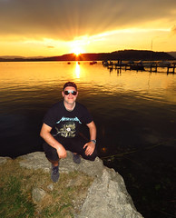 Summer in Switzerland (evil king) Tags: water wasser nature natur naturerocks naturelovers metal metalshirt metallica swiss switzerland spass sun schweiz summer see sommer sonne sonnenuntergang sunset sunglasses murtensee muntelier saintblaise neuenburgersee lac morat neuchâtel duck swan happy couple
