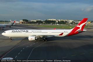 VH-QPH | Airbus A330-303 | Qantas