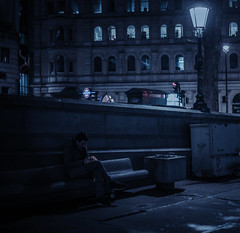 london after dark (Edo Zollo) Tags: london londonatnight londonstreetphotography londonafterdark londonpastbedtime inthedarkofnight