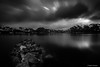 Claror en b:n (AvideCai) Tags: avidecai canon1635 paisaje bn blancoynegro agua reflejos nubes cielo largaexposición