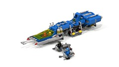 Galactic Cruiser Please Support this Becoming a Set! (lcsfan94) Tags: lego legospace neoclassicspace classicspace