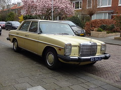 1976 Mercedes-Benz 300D (automatic)(US spec) (Skitmeister) Tags: 85ya21 car auto pkw voiture carspot skitmeister nederland netherlands holland
