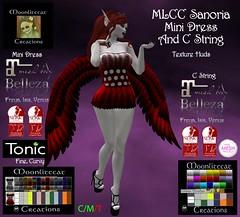 MLCC Sanoria Mini Dress Ad Pic (moonlitecat) Tags: mlcc fantasy faire sanoria mini dress wings mesh bento slink belleza maitreya tonic tmp