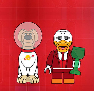 Cosmo & Howard the Duck