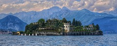 The five sailboats (Luc1659) Tags: five sailboats lagomaggiore italy isolabella clouds nwn