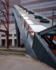 zollverein - essen (dan.boss) Tags: coalmine industrial escalator x100f zollverein nrw essen