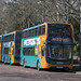Cardiff Bus double deckers, Cathays Park, Cardiff