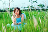 Enjoy free time on greenfield (Hosting and Web Development) Tags: hair happy hand horizontal costume cyan smile sky shoulder sit summer face femininity female flower field fashion arm asia emotion evening eyes person green grass nikon young vietnam one outdoor portrait body woman tree dress d90