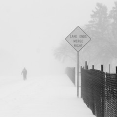 Blizzardy Walk (4 of 5) (Thiophene_Guy) Tags: thiopheneguy originalworks olympusxz1 xz1 negativespace minimalism snow camerawrappedinbreadbagtapedclosedarounduvfilter blur slowshutterblur winter snowfall