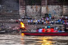 Varanasi, India (Ben Perek Photography) Tags: asia india varanasi ganga river ganges holy oldest city ghat pilgrims piligrim water amazing beautiful hindu hinduism interesting cultural culture boat boats