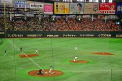 Tokyo Yomiuri Giants Baseball Game at Tokyo Dome - Tokyo Japan (mbell1975) Tags: bunkyōku tōkyōto japan jp tokyo yomiuri giants baseball game dome nippon 日本野球機構 yakyū kikō プロ野球 npb japanese 東京ドーム tōkyō dōmu baseballstadion stadion