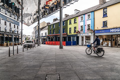 THE NEW APPLE MARKET IN WATERFORD [BETWEEN MICHAEL STREET AND JOHN STREET]-142557 (infomatique) Tags: applemarket publicspace meetingplace socialepicentre stainlesssteel glazededges reflectiveunderbelly waterford waterfordcity urbanspace july 2018 williammurphy infomatique fotonique streetsofireland sony a7riii