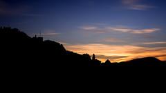 sunrise silhouette (freemanphoto) Tags: sunrise bluehour orablue dark silhouette bergamo lombardia italia geotagged alba city uppercity cittàalta longexposure nisifilters
