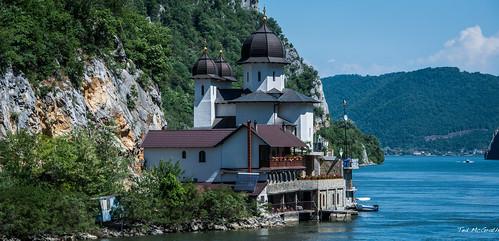 2018 - Romania - Serbia - Danube River - Mraconia Monastery