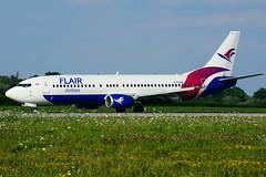 C-FLHE (Flair Airlines) (Steelhead 2010) Tags: flairair boeing b737 yhm b737400 creg cflhe