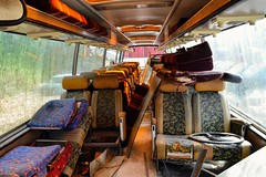 Please take your seat (PD3.) Tags: england uk bus buses psv pcv flexford north baddersley chandlers ford hampshire hants classic preserved plaxton aec reliance coliseum coaches coach southampton elite pcg888g pcg 888g